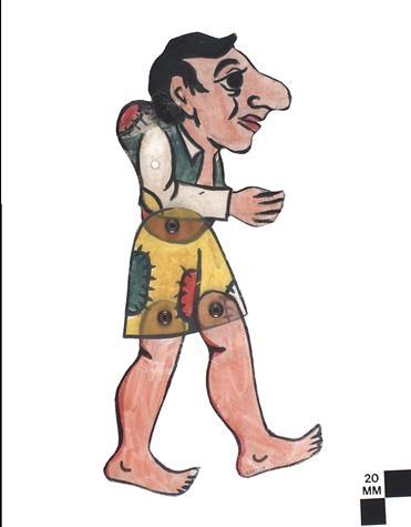 Birikokos, shadow puppet figure