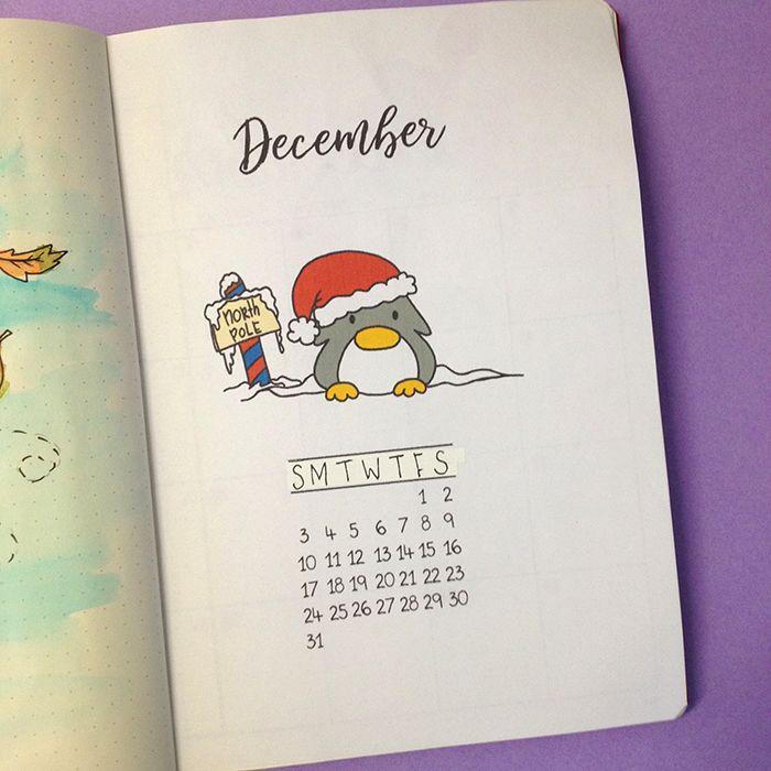 Sharing with you how I've set up my bullet journal for December and which spreads I've added.  You can find the 2018 Penguin Calendar in my Etsy shop: https://www.etsy.com/listing/559072707/printable-calendar-2018-penguin-calendar?utm_content=buffer3c41f&utm_medium=social&utm_source=pinterest.com&utm_campaign=buffer
