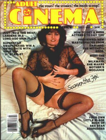 Adult Cinema Review #1: July 1981, NM, Premiere Issue (formerly Cinema-X ) with a Samantha Fox cover. $75