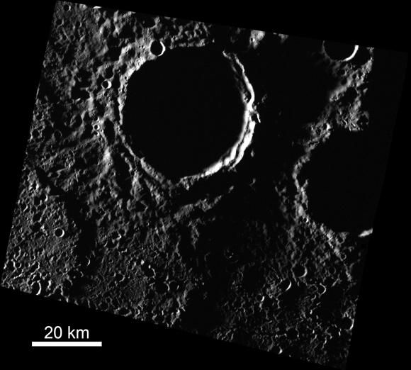 The scorching hot surface of Mercury - our sun's innermost planet - seems an unlikely place to find ice. But a new study suggests otherwise.