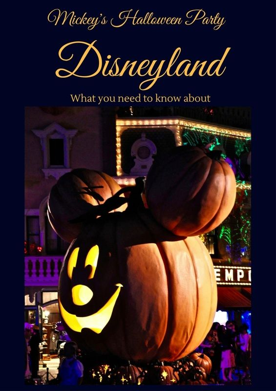 Informations and Tips for attending Mickey's Halloween Party at Disneyland