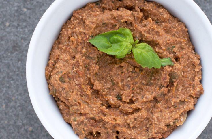 true taste hunters - kuchnia wegańska: Pasta z orzechów włoskich i białej fasoli (wegańskie, bezglutenowe)