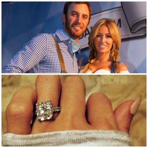 August 2013 - Wayne Gretzky's daughter Paulina Gretzky engaged to PGA star Dustin Johnson