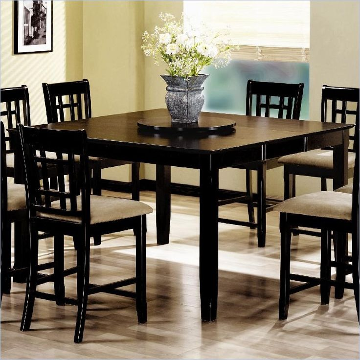 Coaster Geneva Counter Height Square Dining Table