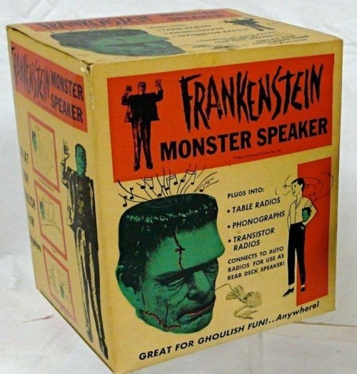 Frankenstein Monster Speaker ... wow ... thats cool
