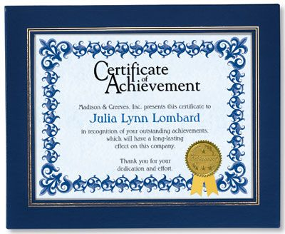 The 45 best Employee Recognition Certificates images on Pinterest - Examples Of Certificates Of Recognition