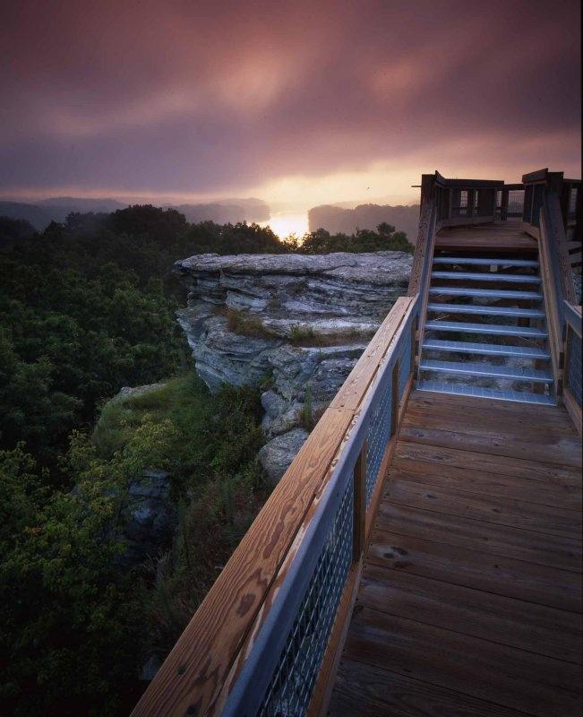 Castle Rock State Park Illinois