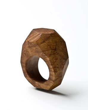 Reminds me of one of my own rings, but made of wood.