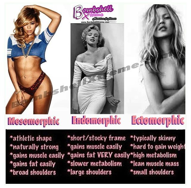 endomorph - Google Search | Body type | Endomorph diet ...