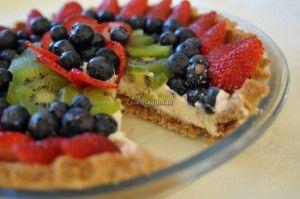Tarta owocowa na lato