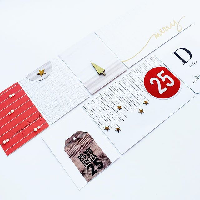 gold dotted lines with gold stars...love that 4x6 card