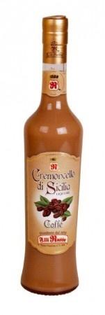Cremoncello Kávé krémlikőr 0,5Ll 17%: Cremoncello al Caffé  Az FM BRAND legkifinomultabb termékcsaládja. Érezte már, hogy valami igazán krémes, kényeztető desszertre vágyik egy pompás étkezés után?  Az FM Brand valóra váltja álmait!  A Cremoncello di Sicilia termékcsalád tökéletesen kifinomult keverékét adja az édes tejszín és zamatos gyümölcsök ízének.  Hihetetlenül finom.