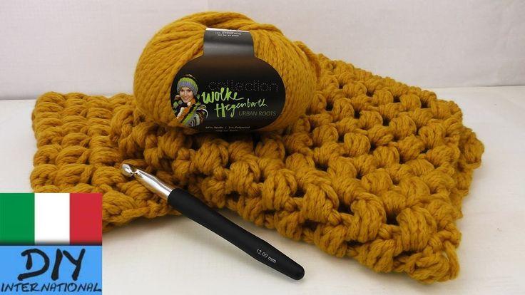 Come cucire ad uncinetto una sciarpa loop Schal – istruzioni per principianti – sciarpa doppio giro