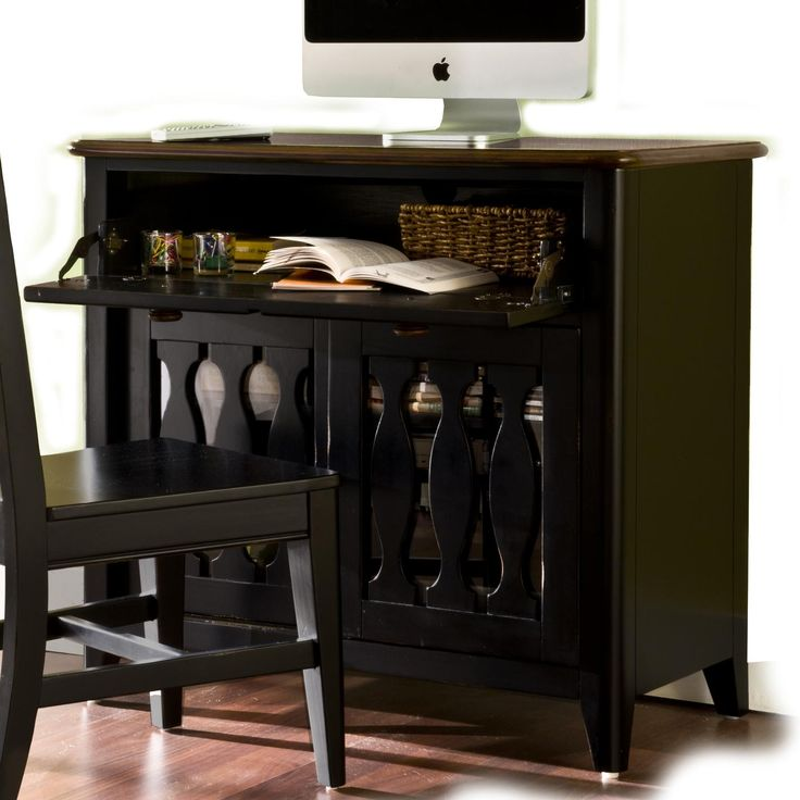 Drop Front Secretary Desk For Computer