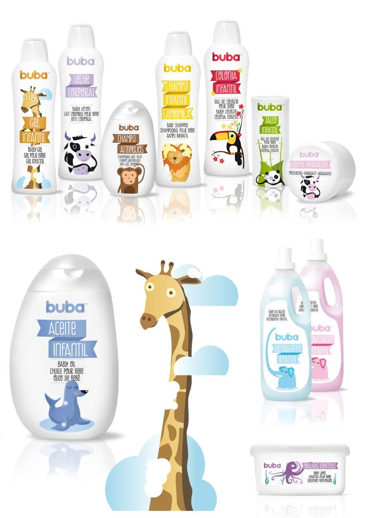 BUBA. MORE ANIMAL HYGIENE FOR CHILDREN by Ottra Comunicación | (via The Dieline)    |    Font in action: Berimbau