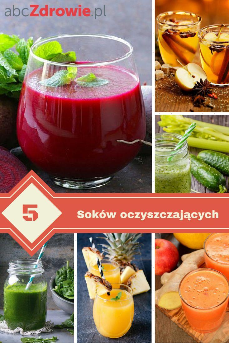 Nie wiesz, jak pozbyć się toksyn z organizmu? Wypróbuj 5 przepisów na oczyszczające soki. Dzięki nim usuniesz toksyny z organizmu, a twoje samopoczucie się polepszy!  #soki #oczyszczanie #detoks #detox #toksyny #juicing #juice #healthy #abcZdrowie