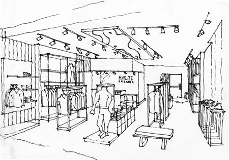 5 POINTS TO CONSIDER WHEN CREATING A RETAIL STORE DESIGN A store is a physical extension of the brand. Located strategically and it will lure customers from afar. Designed properly and it will enhance physical retail experience of consumers. Below are 5 points that retailers need to take into account when designing any type of store, whether it is a flagship store or a shop-in-shop concept. #5SP #retaildesign #retail #design #sketch #drawing #concept #store #china #beijing #shanghai