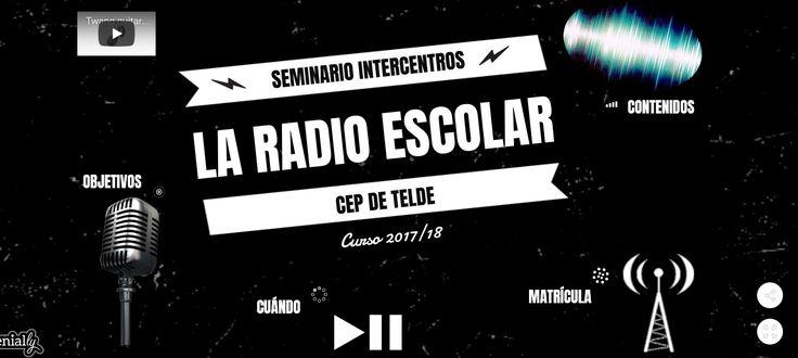 Radios Escolares CEP Telde Canarias: Comienza el Seminario de Radio Escolar 2017/18