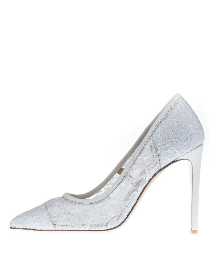 if classic elegance is what youäó»re after, these Pera heels are definitely the shoes for you. Crafted with Italian lace, these heels are wardrobe must have. They will never go out of style and will give a sweet, delicate and sophisticated look to any outfit.
