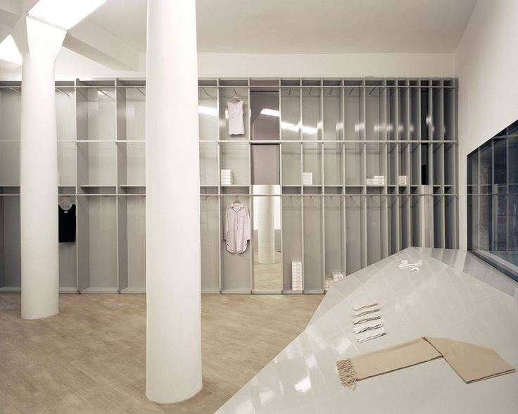 andreas murkudis store by gonzalez haase aas. Black Bedroom Furniture Sets. Home Design Ideas