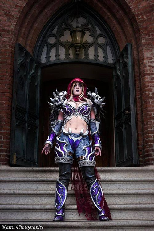 Sylvanas Windrunner from Warcraft Cosplay http://geekxgirls.com/article.php?ID=9503