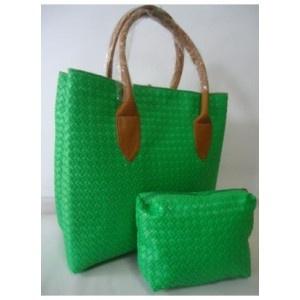 tas webe anyam hijau - AyeshaShop.Com