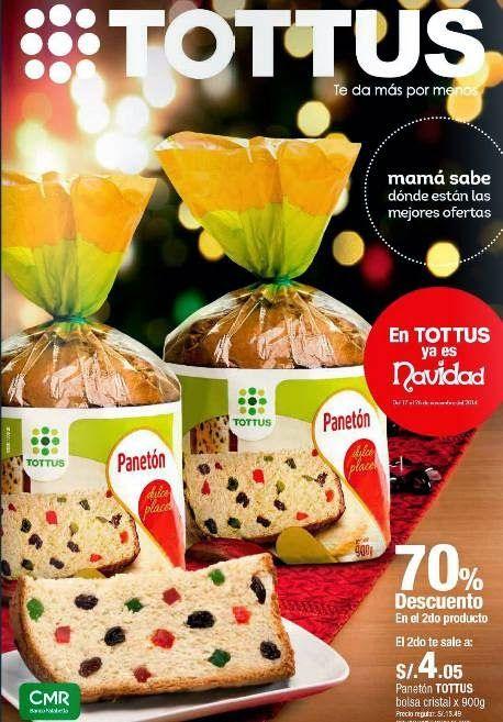 Catalogo de Tottus Ofertas por Navidad Noviembre 2014