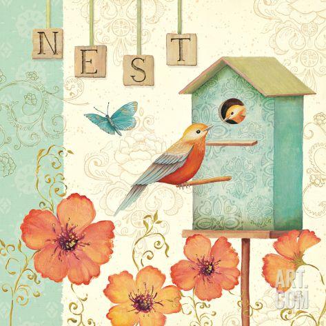 Welcome Home IV Print by Daphne Brissonnet at eu.art.com