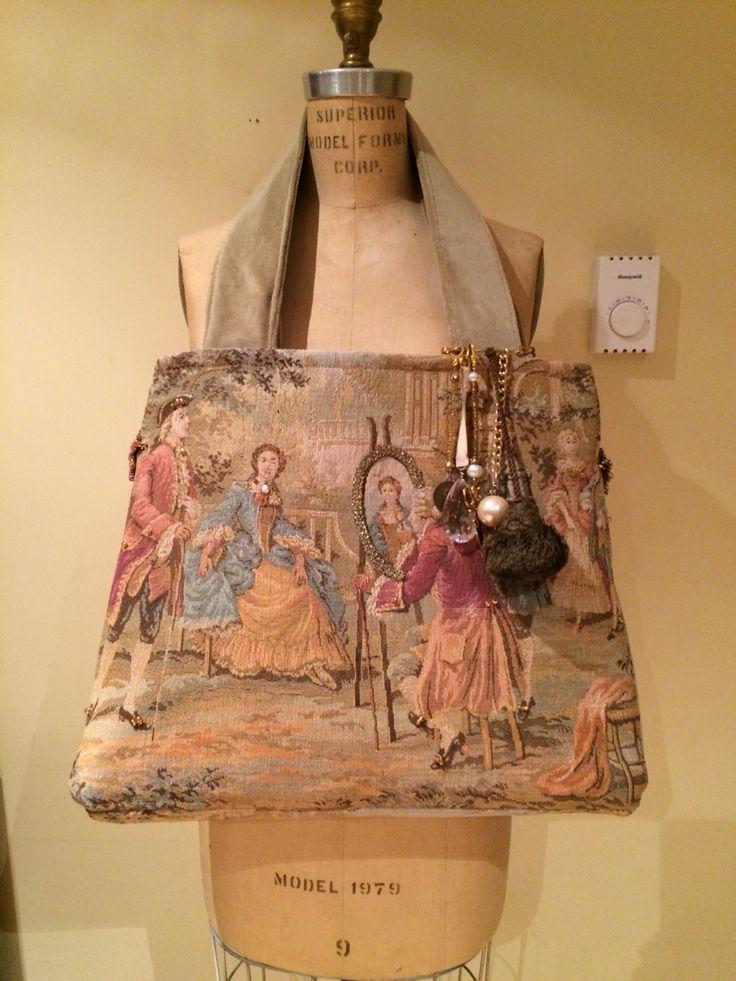 Delightful Creation carpet bag