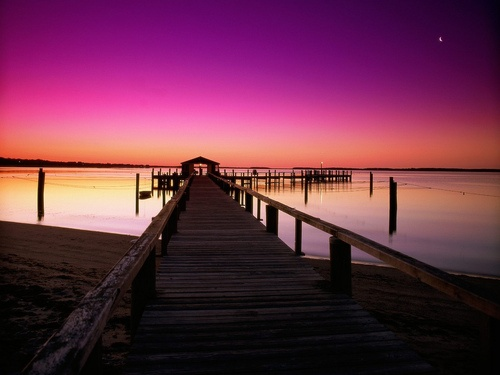 Dawn Breaking, Cape Cod, Massachusetts