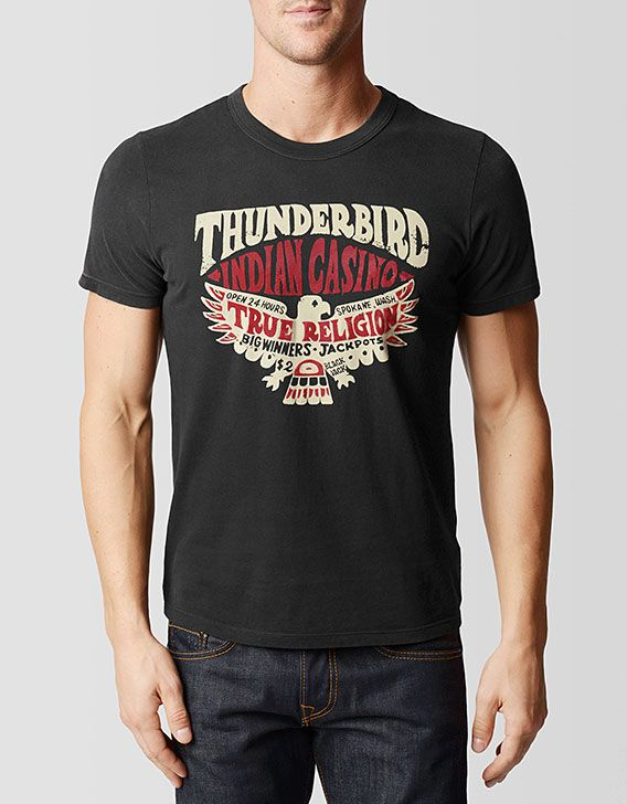 T Shirt Design Ideas Pinterest 38 creative examples of promotional t shirts True Religion Brand Jeans Thunderbird Mens Tee 3c Black Mens Tops