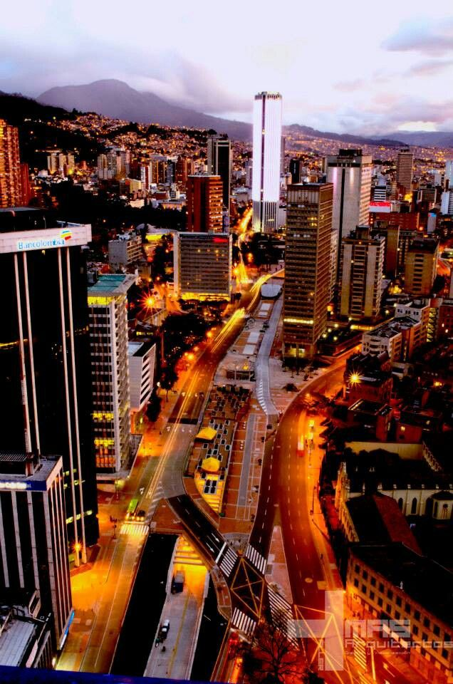 Bucket List: Go visit the place of my birth. Bogotá, Colombia