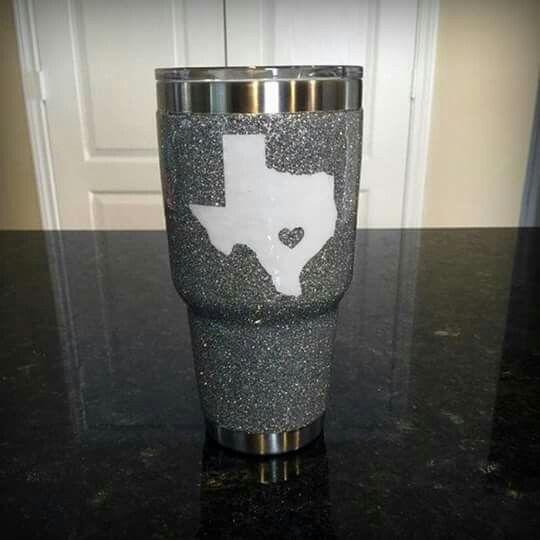 Yeti Rambler With Texas Sparkle I Want This Texas Stuff