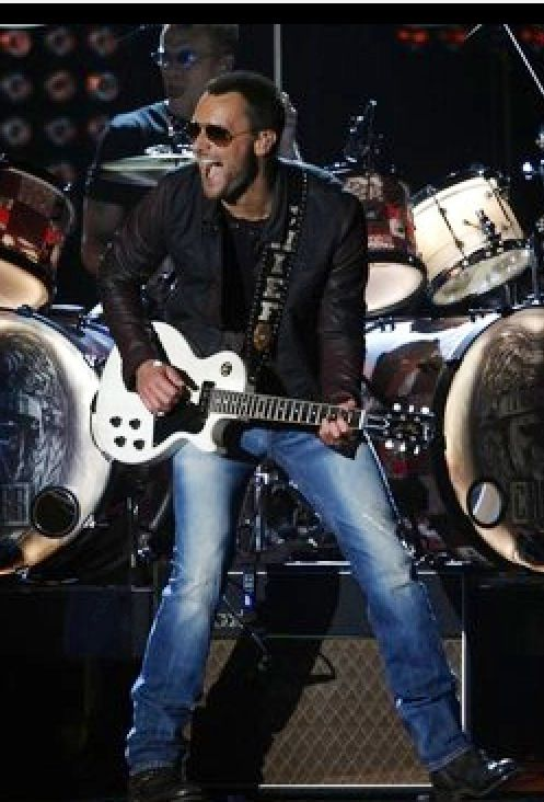 Eric Church performs The Outsiders,at the 2013 CMA Awards.:)