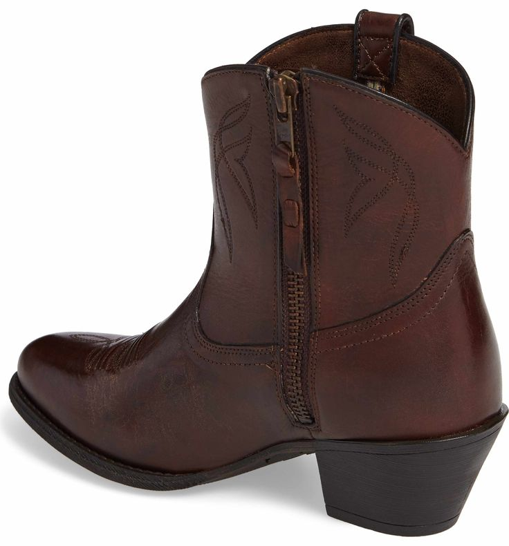Darlin Western Block Heel Booties