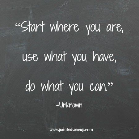 """Start where you are, use what you have, do what you can."" 12 Productivity…"