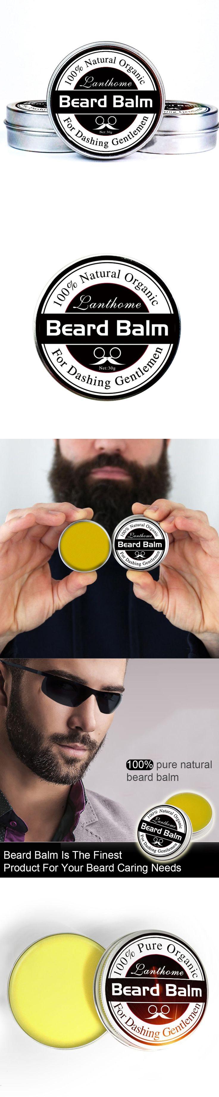 Organic Beard Styling Moisturizing Effect Care Natural Men Hair Wax Balm