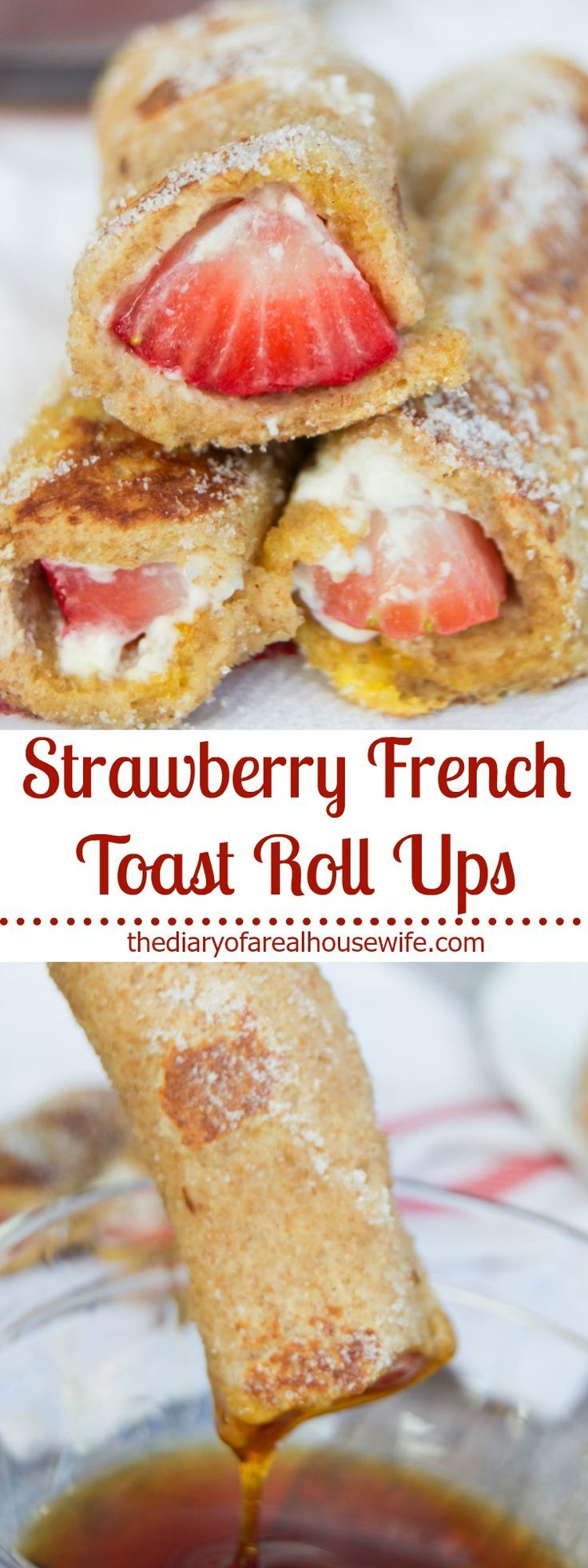 Add some fun and flavor to your morning with this sweet fruit rolled up with cream cheese and cooked like French Toast. You'll enjoy every bite!