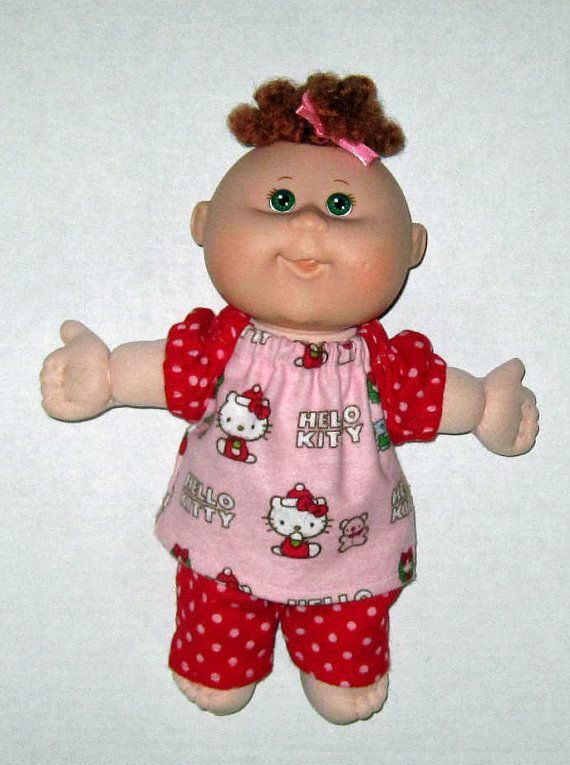 Cabbage Patch Newborn Doll clothes Hello Kitty by Dakocreations, $12.99