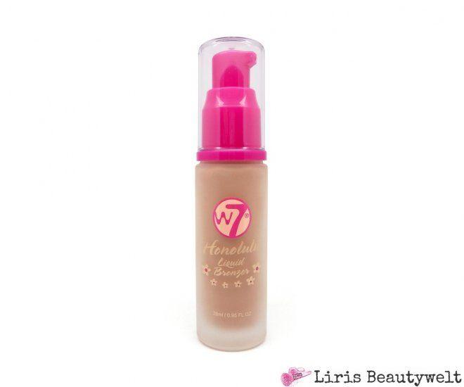 W7 Honolulu Liquid Bronzer | Liris Beautywelt Online-Shop