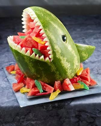 watermelon shark @ Ashley Finch for Finding Nemo Party