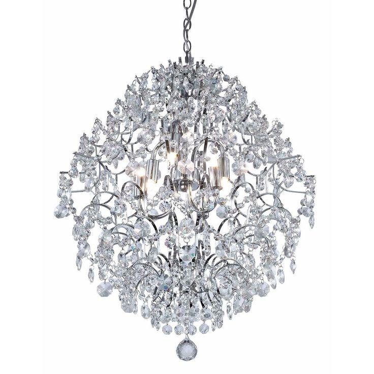 Small Foyer Crystal Chandelier : As melhores ideias de modern crystal chandeliers no