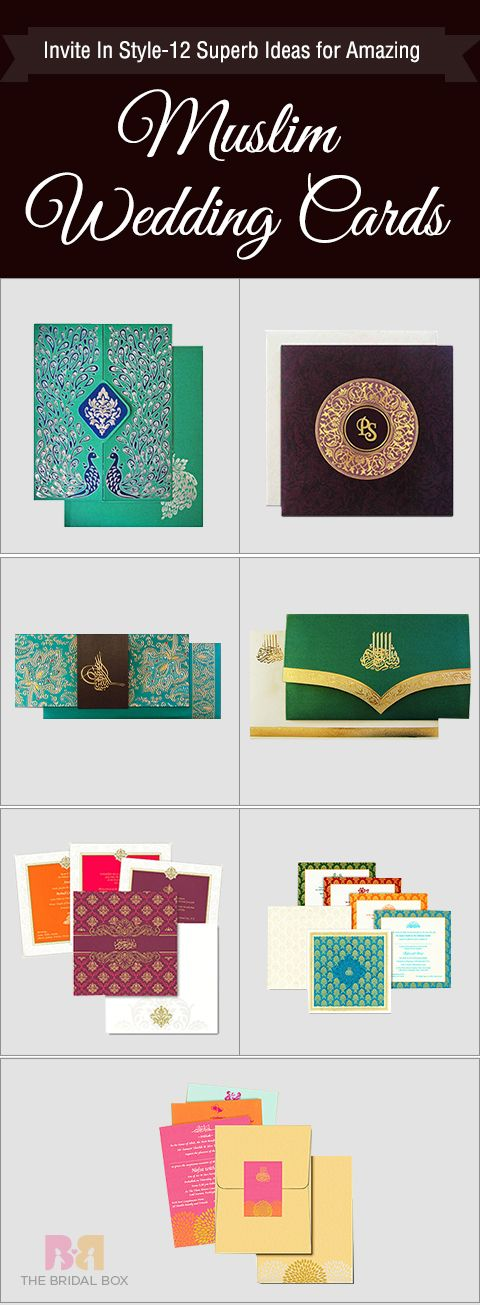 free online muslim wedding invitation cards%0A Invite In Style   S Ideas for Amazing Muslim Wedding Cards