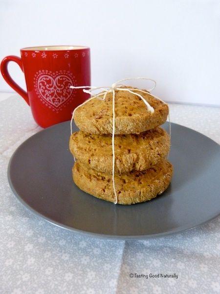 Biscuits végétaliens à la noix de coco - vegan