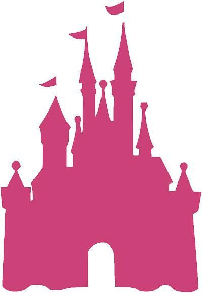 "Disney Castillo princesa 22 ""l x 32"" hPink Cenicienta chicas vinilo Wall Decal pegatina arte"