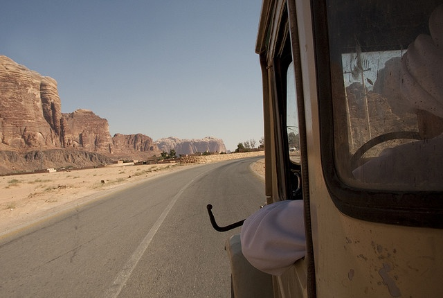 Wadi Rum, Jordan  From my Flickr @ http://www.flickr.com/photos/theboybg/