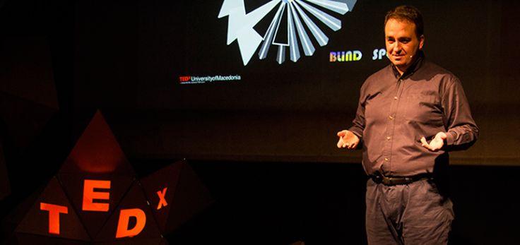 Γνωρίζοντας τους ομιλητές του TEDxUniversityofMacedonia 2015: Κώστας Καρπούζης