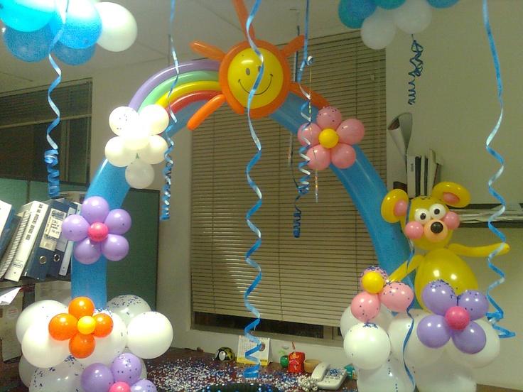 135 best decoraciones globos images on pinterest - Bombas de cumpleanos ...