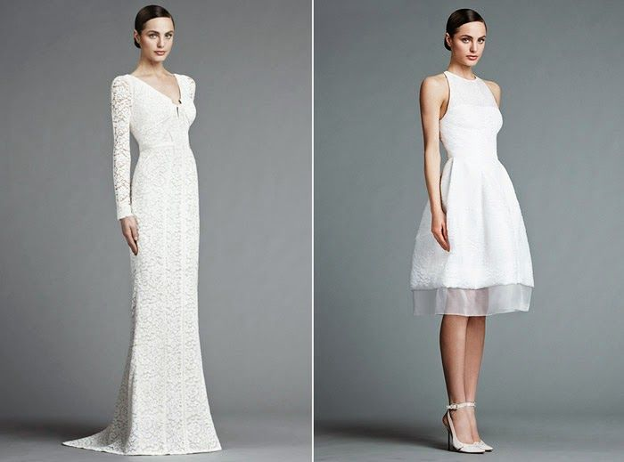 J. Mendel 2015 Wedding Dresses Collection ~ Glowlicious Me