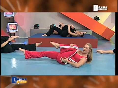 Jill Cooper - Addome con Pilates part 2 - YouTube